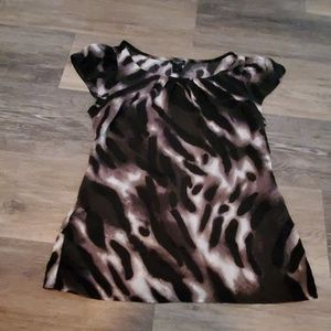 Ann Taylor animal print top